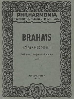 Brahms Symphonie II (D dur Op.73) -: Geiringer, Dr. Karl