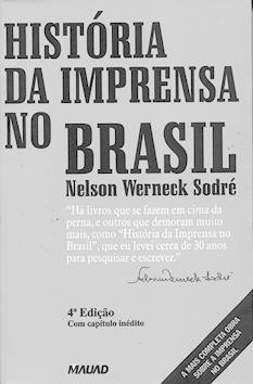 História da imprensa no Brasil.
