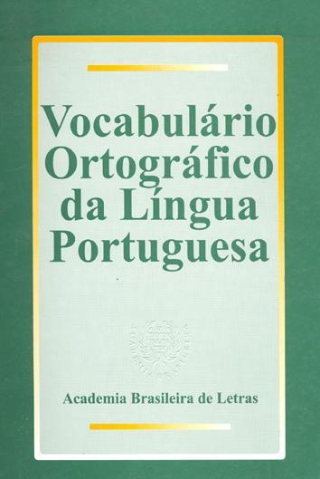 Vocabulario ortografico da lingua portuguesa