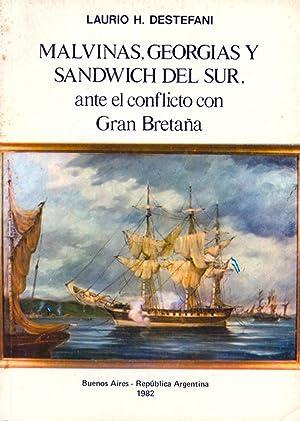 Malvinas, Georgias y Sandwich del Sur ante: Destefani, D. Laurio