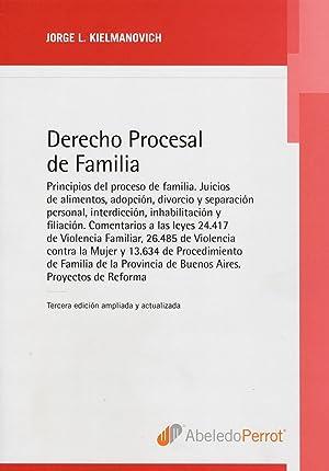 Derecho procesal de familia.: Kleimanovich, Jorge L. -