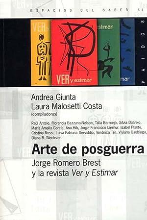 Arte de posguerra : Jorge Romero Brest: Giunta, Andrea -