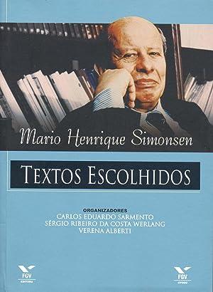 Textos escolhidos.: Simonsen, Mario Henrique