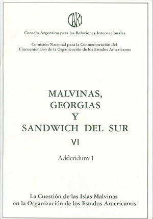 Malvinas, Georgias y Sandwich del Sur. vol.: Consejo Argentino para