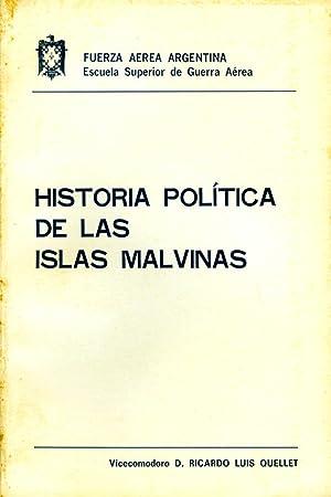 Historia política de las Islas Malvinas.: Quellet, Ricardo Luis -