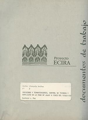 Indígenas y terratenientes : control de tierras: Paz, Gustavo L.