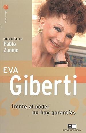 "Eva Giberti : ""frente al poder no: Giberti, Eva -"