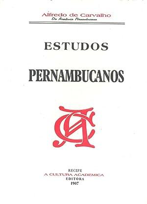 Estudos pernambucanos. -- ( João Nicodemos de: Carvalho, Alfredo de