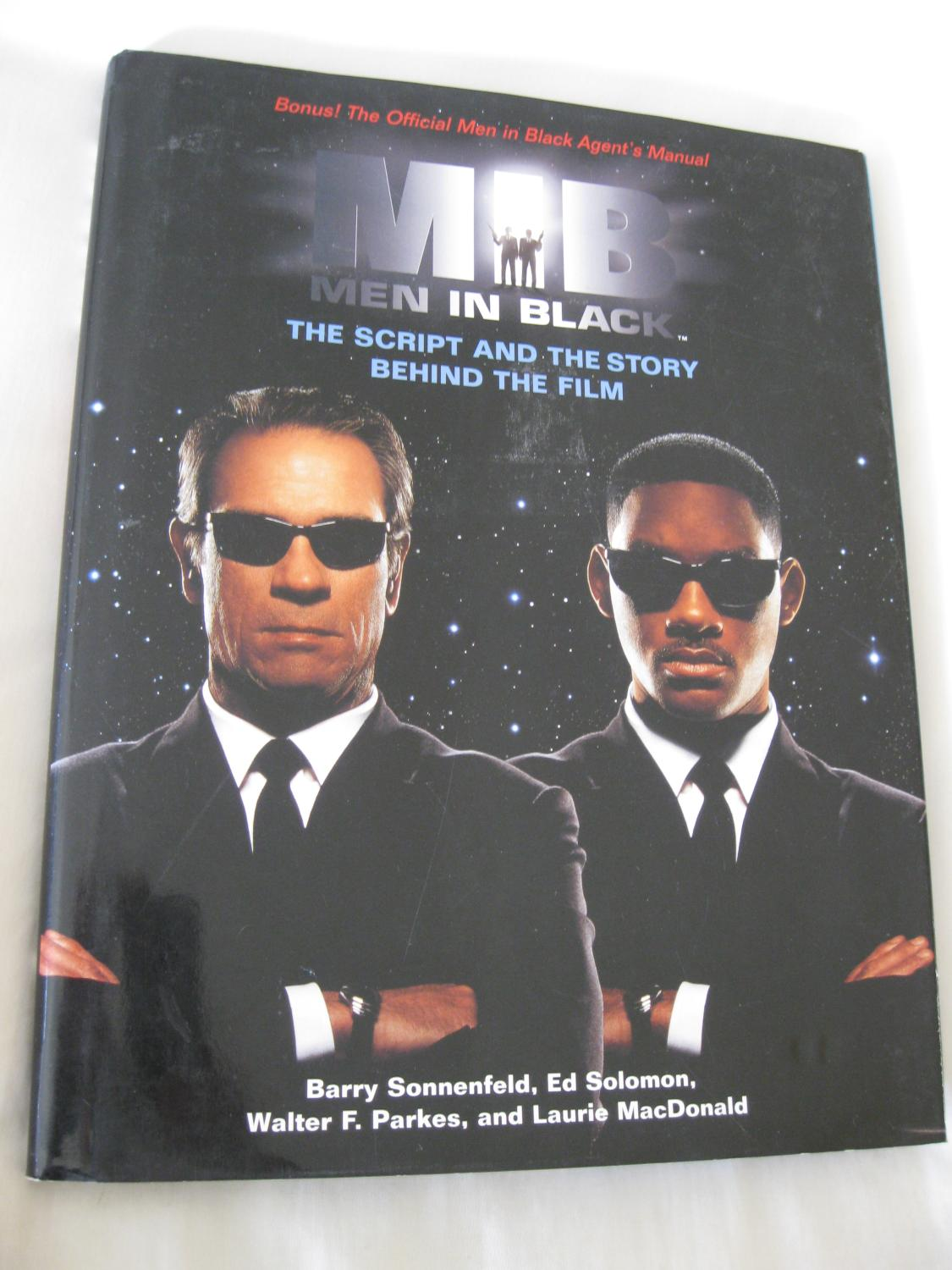 Mib Men In Blackthe Script And The Story