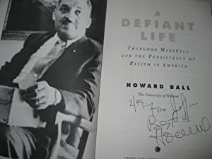 A Defiant Life: Thurgood Marshall & The Persistence Of Racism In America