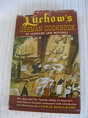 Luchow's German Cookbook: Leonard Jan Mitchell