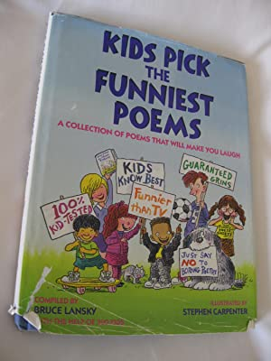 Kids Pick The Funniest Poems: A Collection: Lansky, Bruce