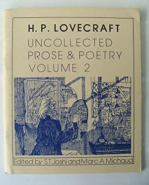UNCOLLECTED PROSE AND POETRY VOLUME 2