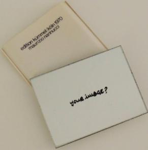 Ohne Titel (Your Image).: Nannucci, Maurizio.