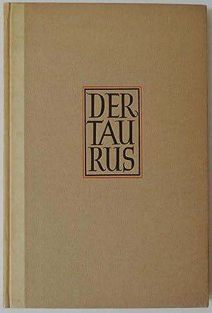 Der Taurus. Gedichte.: Jünger, Friedrich Georg.