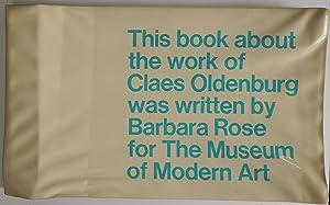 Claes Oldenburg. Katalog.: Oldenburg - Rose, Barbara.