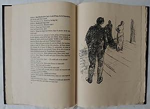 Der Vater. Ein Trauerspiel. Orig.-Lithographien von Adolf Schinnerer.: Strindberg, August.