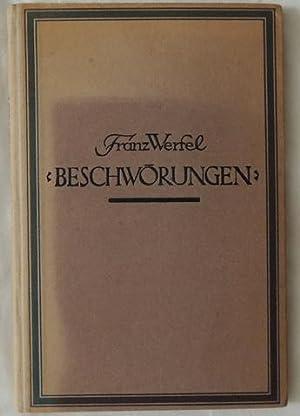 Beschwörungen.: Werfel, Franz.