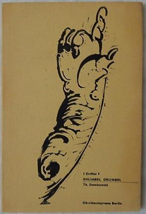 1 Drittel 1. Grumbel Grumbel. Dembowski bis1965.: Dembowski, Th.