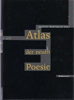 Atlas der neuen Poesie.: Sartorius, Joachim (Hrsg.)