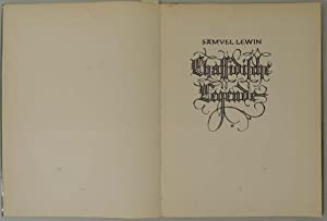 Chassidische Legende.: Budko ? Lewin, Samuel.