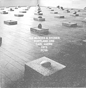 144 Blocks & Stones. Portland Ore. For Robert Smithson (1938-1973).: Andre, Carl.