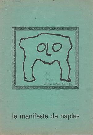 Manifeste de Naples. Manifest.: Arte Nucleare -