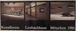 Dreiteilige Plakat-Edition jeweils mit Schriftzug der Künstler.: Ecker, Bogomir ? Kummer, ...