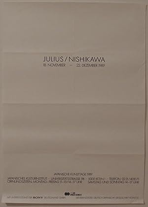 Japanische Kunsttage.: Nishikawa ? Julius
