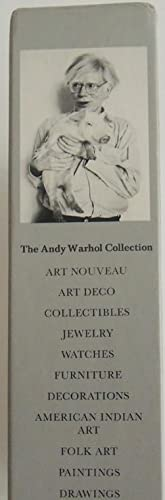 The Andy Warhol Collection. Katalog. 6 Bände in Orig.-Schuber.: Warhol, Andy.