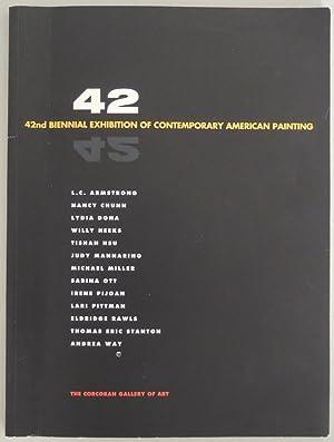 Katalog. Text Terry Sultan. L. C. Armstrong,: 42. 42nd Biennial