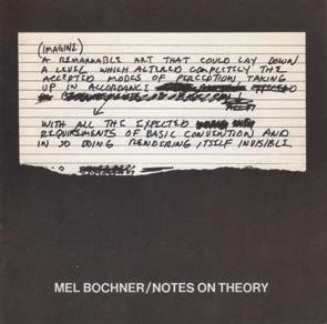 Bochner. Notes on theory.