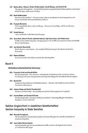 Band 14: Arm und Reich - Zur Ressourcenverteilung in prähistorischen Gesellschaften - 8. ...
