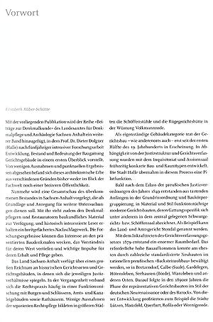Gerichtsgebäude in Sachsen-Anhalt   Steinerne Zeugen der Justizgeschichte und Rechtskultur: Dieter ...