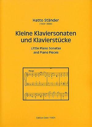 Kleine Klaviersonaten und Klavierstücke (1941-1944): Ständer, Hatto