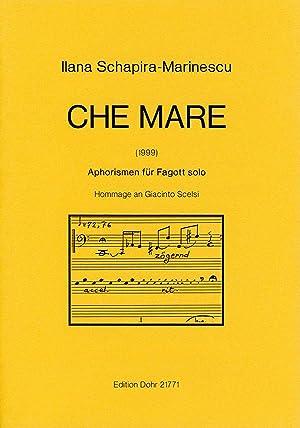 "Che Mare ""Ruf . Beschwörung"" (1999) -Aphorismen: Schapira-Marinescu, Ilana"