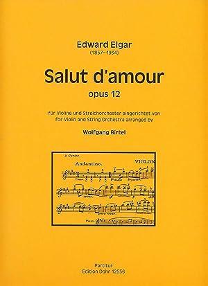 Salut d'amour für Violine und Streichorchester op.: Elgar, Edward; Birtel,