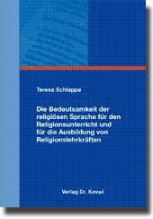 Die Bedeutsamkeit der religià sen Sprache für den Religionsunterricht und für die Ausbildung von ...