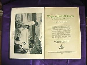 Wege zur Selbstbildung: Altenkirch, G. Prof.