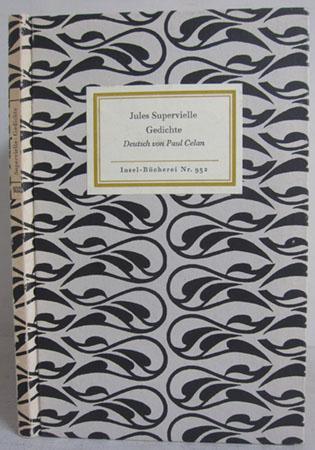 Gedichte Deutsch von Paul Celan - Insel-Bücherei: Supervielle, Jules /