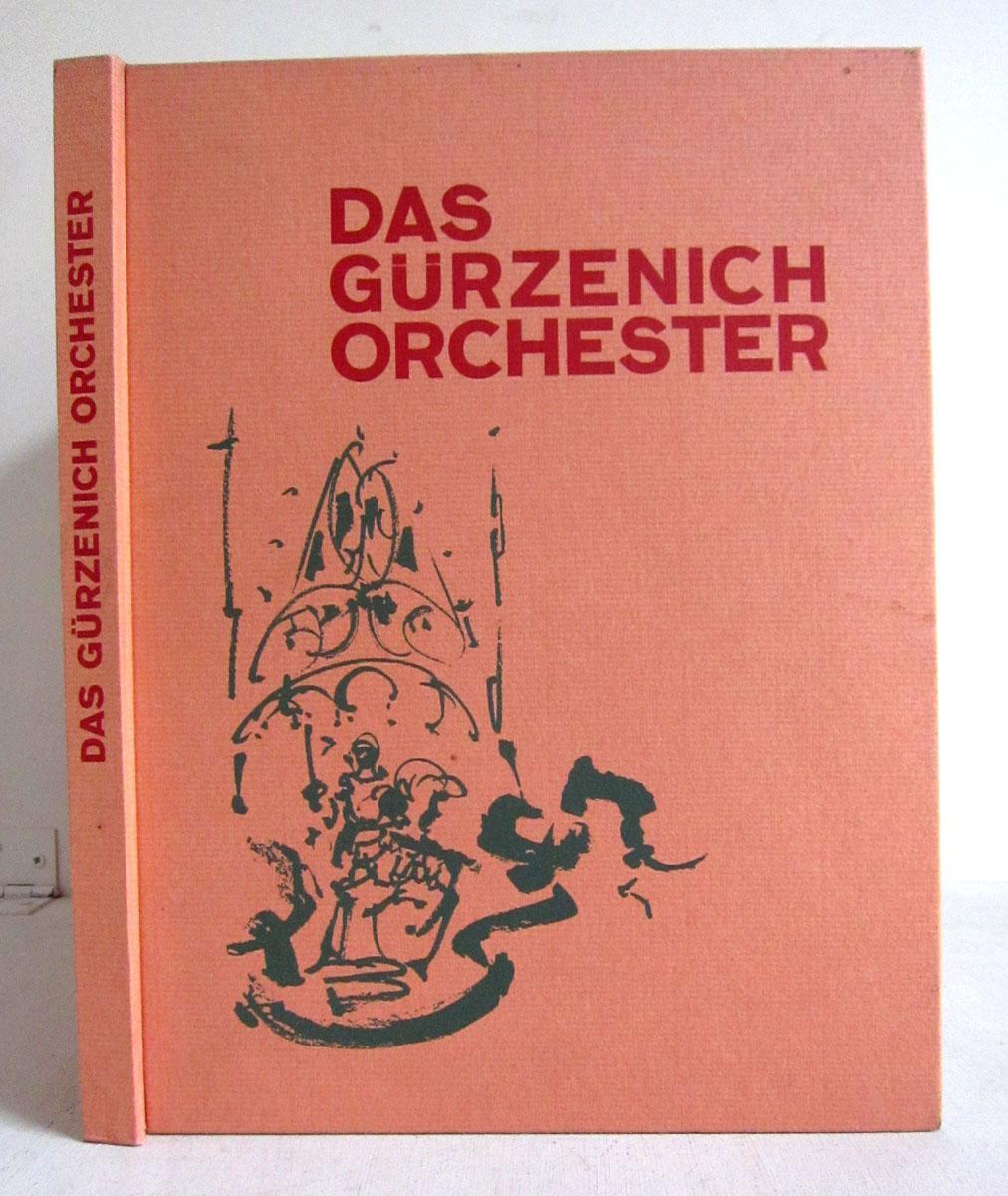 Chargesheimer - Das Gürzenich-Orchester - 75 Jahre Stadtkölnisches Orchester - Chargesheimer mit dem Gürzenichorchester - 28 ganzs. s/w Tafeln etc.