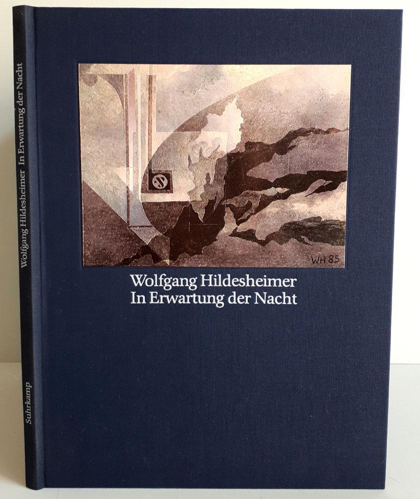 In Erwartung der Nacht - numeriert und signiert mit 32 Collagen in Originalformat - Hildesheimer, Wolfgang