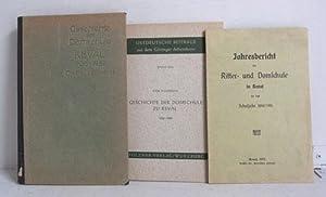 Geschichte der Domschule zu Reval 1906-1922 /: Blosfeld, Paul Dr.