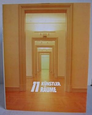 11 Künstler Räume / 11 Künstlerräume -: Wedever, Rolf /