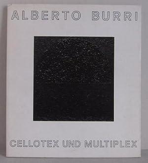 Alberto Burri - Cellotex und Multiplex -: Burri, Alberto