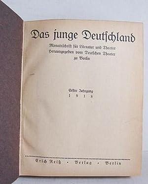 Das junge Deutschland - Monatsschrift für Literatur: Deutsches Theater Berlin