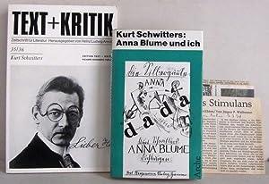 Anna Blume und ich - Die gesammelten: Schwitters, Kurt /