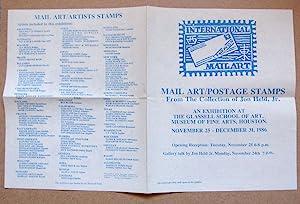 Mail Art / Artists Postage Stamps -: Held, John Jr.