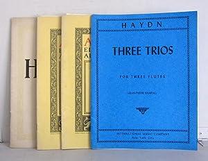 Three Trios for Three Flutes / Zwölf: Haydn, Joseph