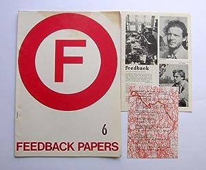 Feedback Papers 6 - orig. Ausgabe, 1973: Fritsch, Johannes /